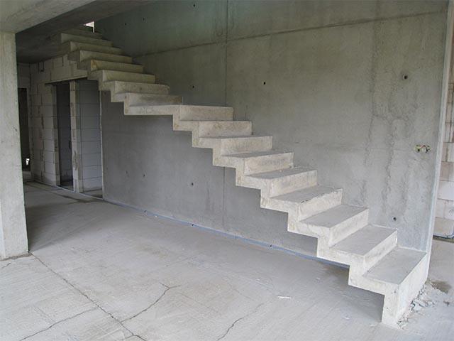 Бетонные лестницы цена
