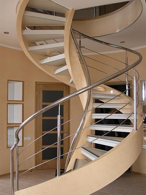 Элитная винтовая лестница премиум сегмента