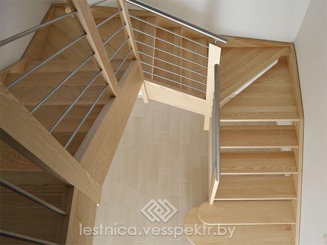 Комбинированная лестница в Гомеле