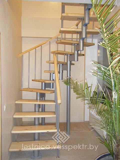 Купить модульную лестницу на второй этаж недорого