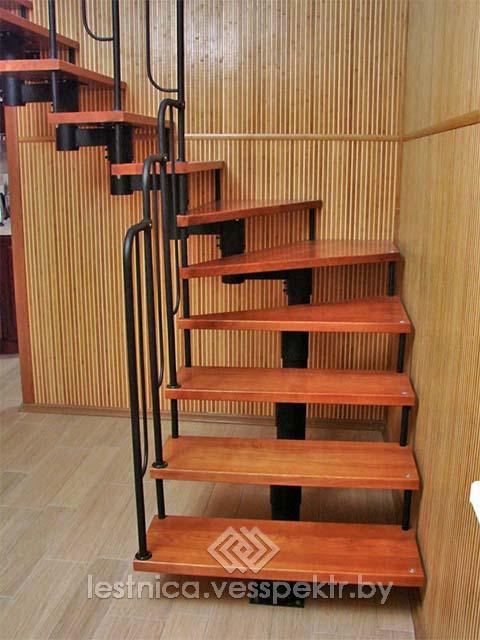 Купить модульную лестницу на второй этаж в Беларуси