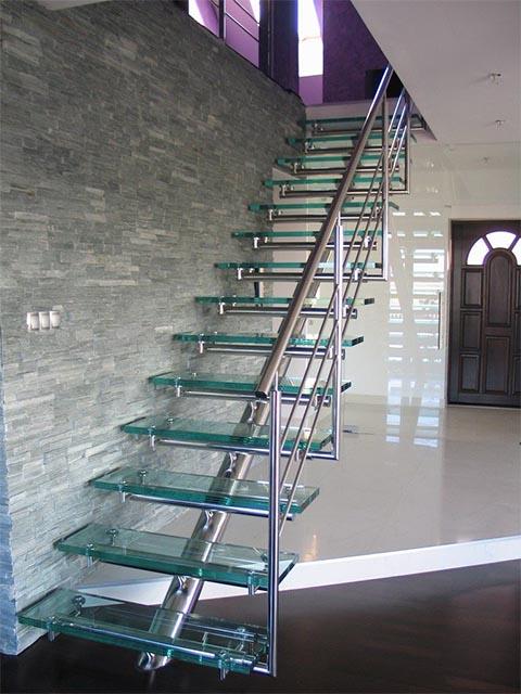 Купить стеклянную лестницу Беларусь