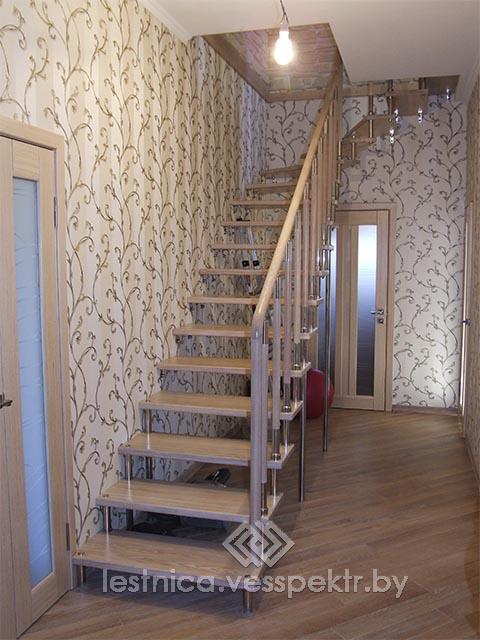 Лестница на больцах в частном доме Могилёв