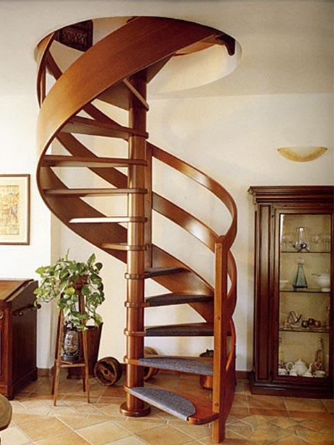 Лестница винтовая на второй этаж купить цена