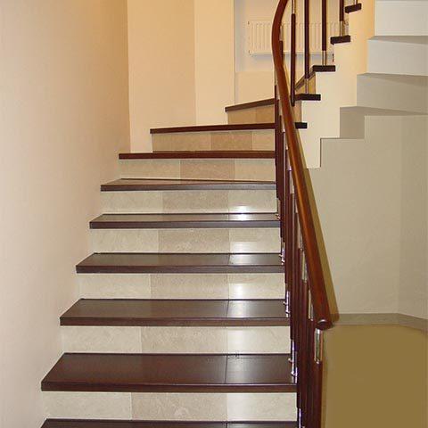 Лестницы комбинированные под заказ
