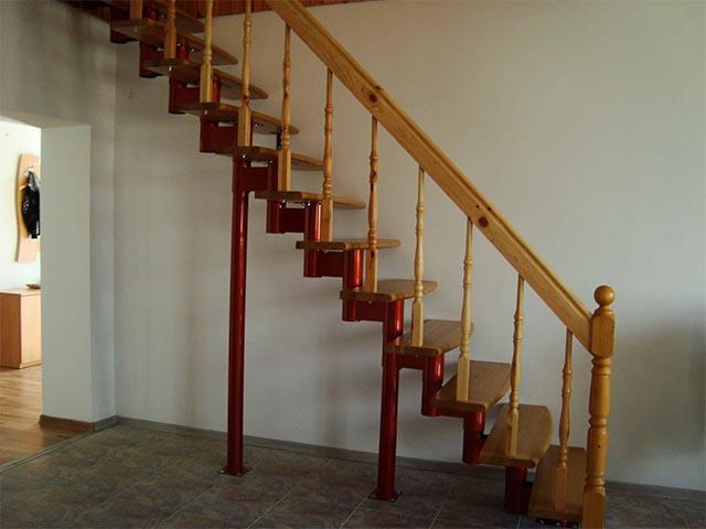 Лестницы модульные рассчет