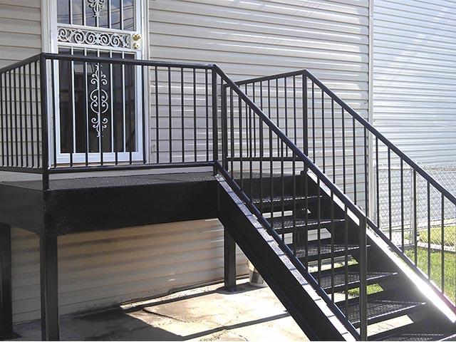 Металлические лестницы фото
