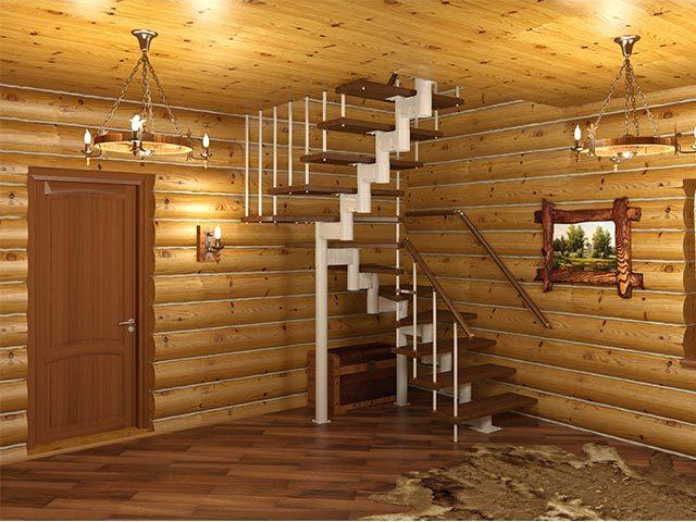 Модульные лестницы продажа