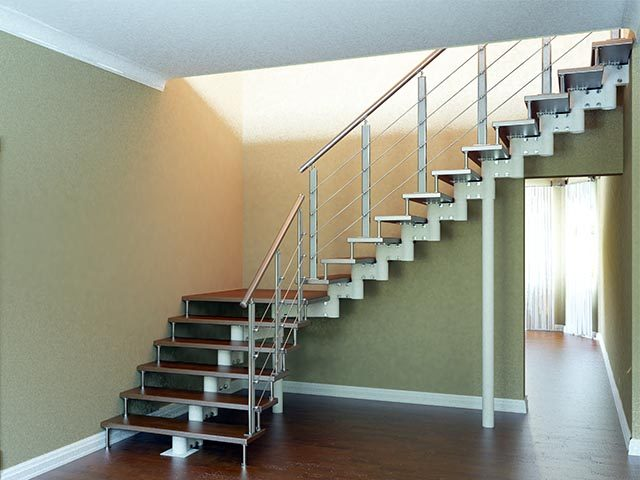 Модульные лестницы заказать
