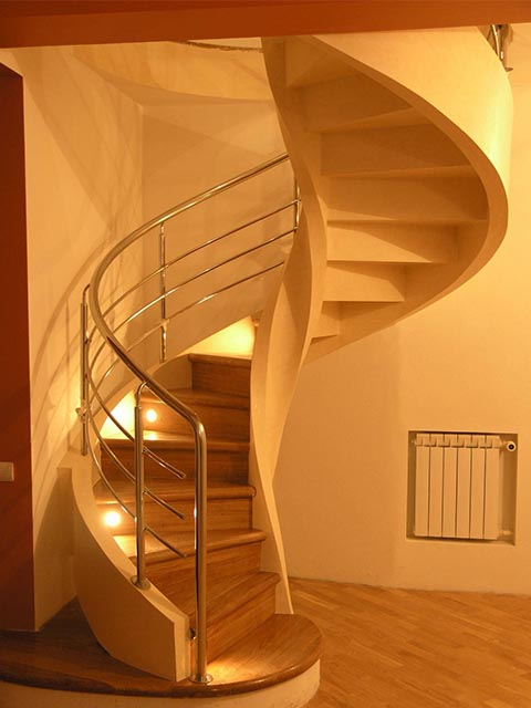 Монолитная лестница цена