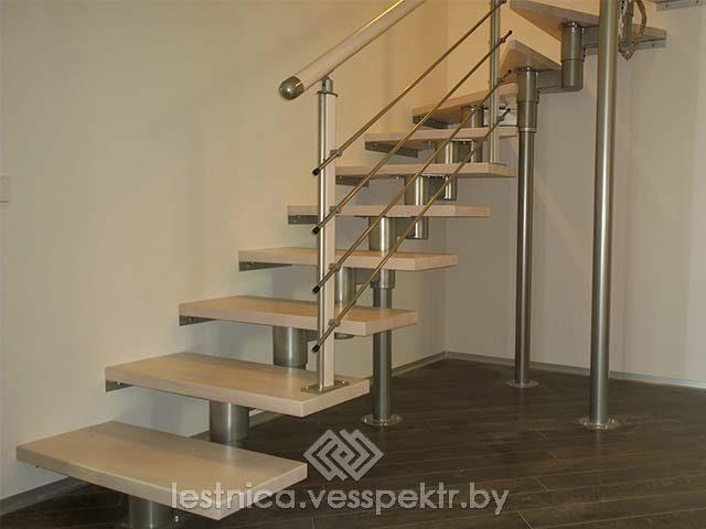 Монтаж модульных лестниц в РБ