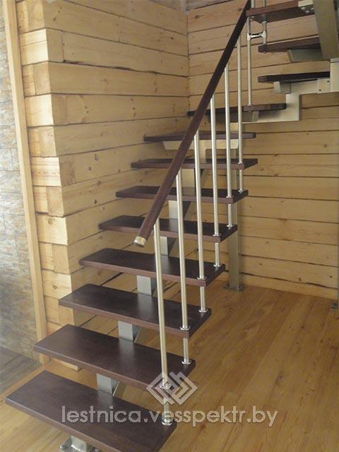 Образцы лестниц на косоуре