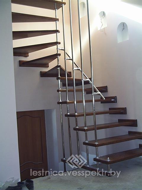 Популярные лестницы на больцах