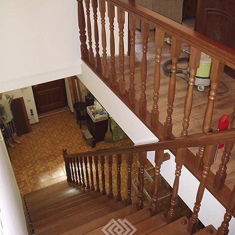 Примеры изготовленных лестниц