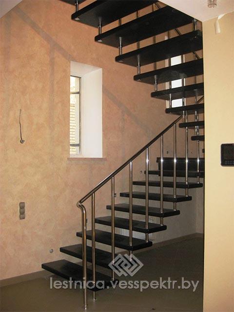 Расчет лестницы на больцах