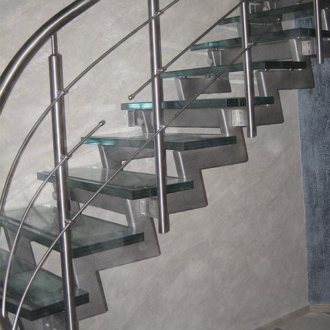 Рассчет лестницы на косоурах