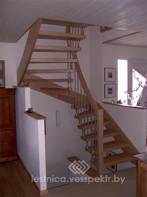 Сколько стоит лестница на больцах