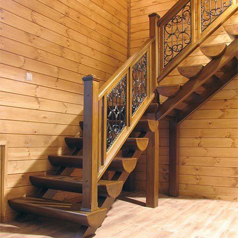 Стоимость изготовления деревянной лестницу
