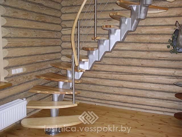Установка модульных лестниц