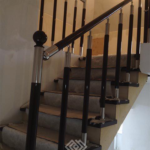 Варианты комбинированных лестниц
