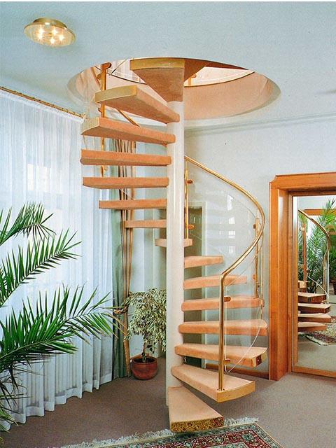 Винтовая лестница купить в Минске