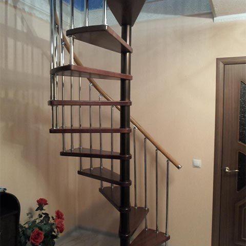 Винтовые лестницы размеры и цены