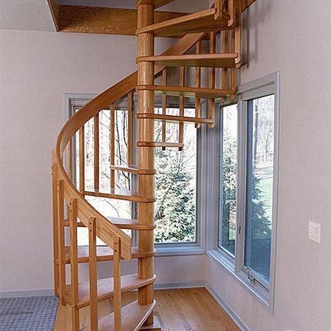 Винтовые лестницы в частном доме