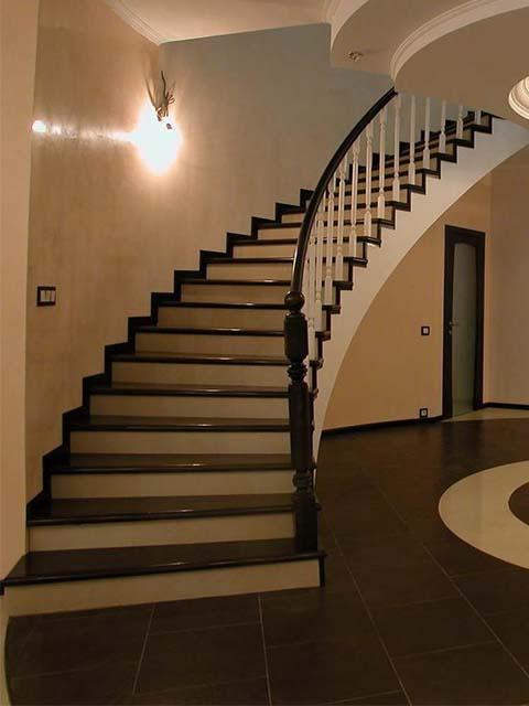 Заказать проект монолитной лестницы