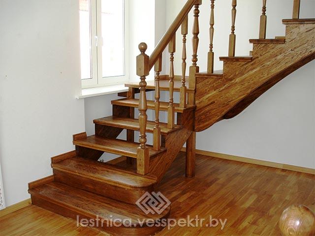 Изготовление деревянных ступеней для лестниц