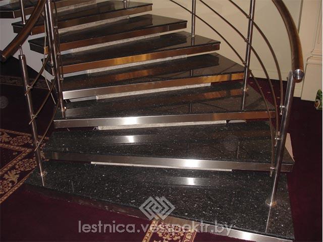 Каменные ступени для лестниц