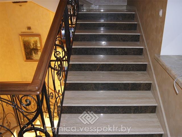 Удобные ступени лестницы
