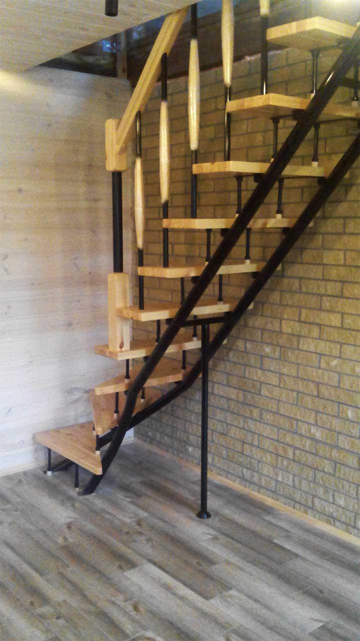 Купить лестницу ласточка на второй этаж