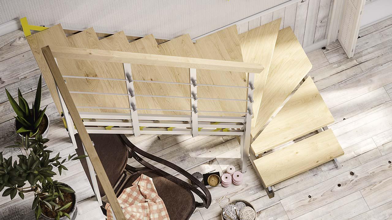 Купить готовую лестницу в Минске