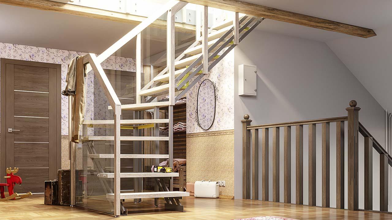 Готовые лестницы в дом Минск