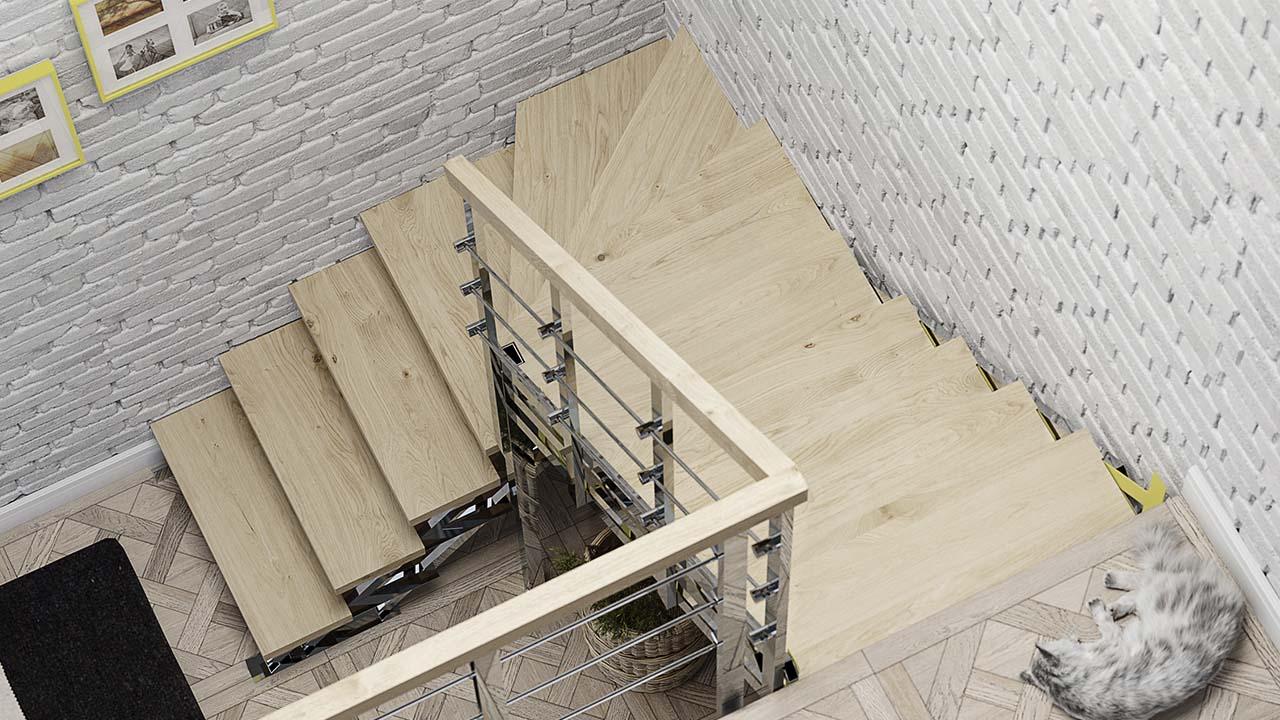 Купить в Минске готовую лестницу